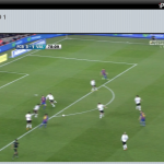Ejemplo de retransmision de eventos deportivos a través de www.iplustv.es: el Barcelona-Valencia de liga