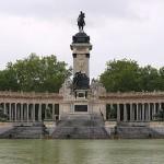 Visita virtual al monumento a Alfonso XII en el parque del Retiro de Madrid a través de fotos esféricas