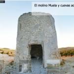 Visita virtual al atarceder al molino Muela de El Romeral (Toledo) y a sus cuevas adyacentes