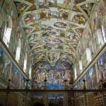 Visita virtual a través de fotos esféricas a la Capilla Sixtina, sede del cónclave para la elección del nuevo Papa